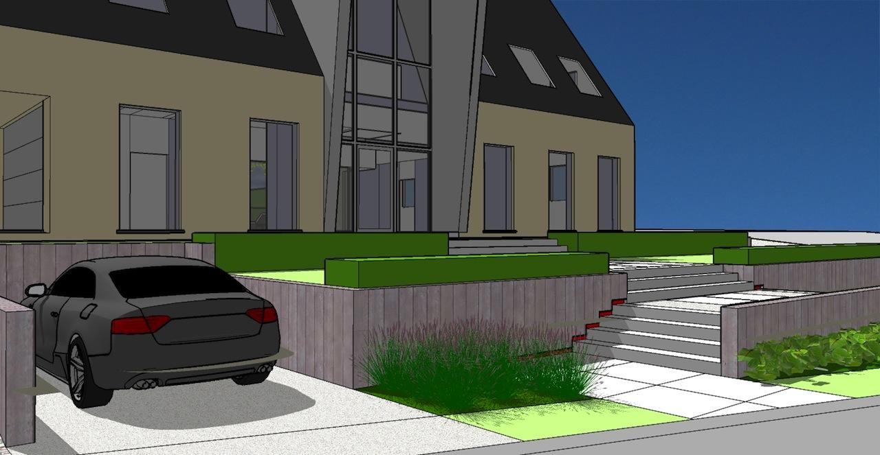 Tuinen in ontwerp tuinarchitect creatief in groen for Tuinarchitect gent