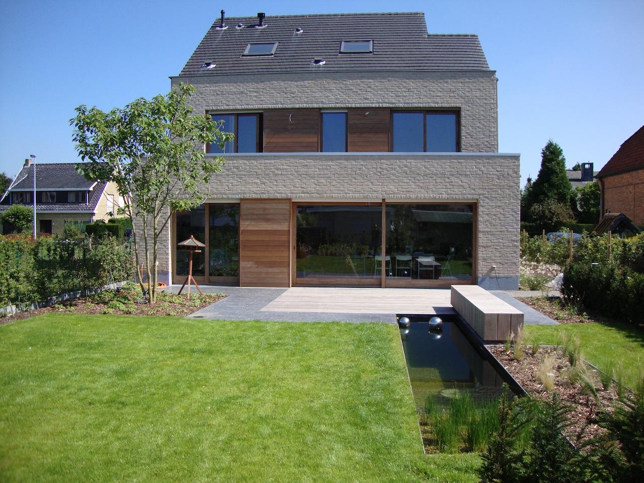 Afgewerkte projecten door jonas d 39 hoore tijdloos ontwerp for Hedendaagse architecten